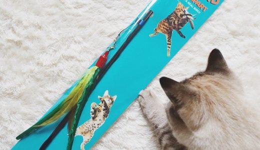 世界一売れている猫じゃらし「ダ・バード」を買ってみた